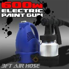 600W Electric Paint Painting Sprayer hvlp Gun 3-ways spraying stainless holder