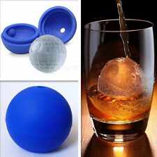 New Silicone Star Wars Whiskey Death Star Ice Cube Tray Mould Mold Desert Sphere
