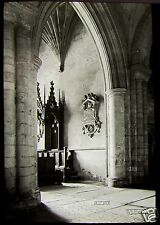 Glass Magic Lantern Slide NORWICH CATHEDRAL CONSISTORY COURT C1900 PHOTO ENGLAND