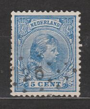 NVPH Netherlands Nederland 35 TOP CANCEL DOESBURG 26 hangend haar 1891
