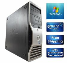 Dell Precision T3400 Workstation Core2Duo 3.0GHz 4GB 320GB Computer Windows 7 PC