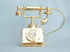 24K GOLD PLATED TELEPHONE SWAROVSKI CRYSTAL SOUVENIR FROM DUBAI UAE