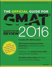 The Official Guide for GMAT Quantitative Review 2016 with Online Question Bank …