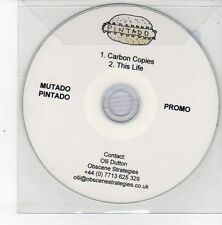 (DS531) Mutado Pintado, Carbon Copies / This Life - 2012 DJ CD