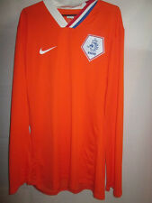 Holland 2008-2009 Player Issue Home Football Shirt Size XXL /15413