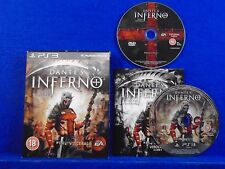 ps3 DANTE'S INFERNO Death Edition Dantes Game Playstation PAL UK REGION FREE