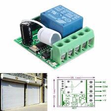 1 Canal DC 12V Inalámbrico RF Control Receptor Relé Interruptor Switch 433MHZ