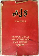 AJS 1931 on PEARSONS Motorcycle Owners Handbook 1948 1st Edition