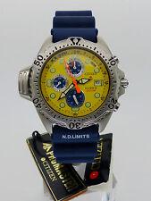 Vintage CITIZEN Promaster Aqualand AY5000-13Y Diver 3740-E70006 *NOS* Rare Dial!