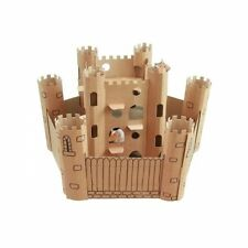 SmartKitz Cardboard Pet Castle for Hamsters & Rodents Small 55x55x80cm