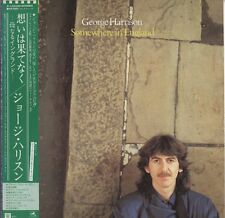 George Harrison - Somewhere In England JAPAN LP with OBI and INSERTS