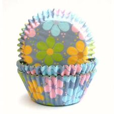 Pirottini per Muffin o Cupcake - FLOWER POWER Cartine Carta Forno