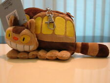 My Neighbor Totoro Cat Bus Plush ID Pass Case Coin bag purse wallet