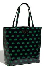 "KATE SPADE NEW YORK HEDGEHOG MAGAZINE BON"" SHOPPER TOTE BAG COATED POPLIN"