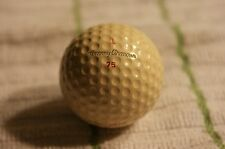 1939 Tommy Armour 75 golf ball with carl otte stamped on it