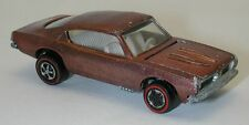 Redline Hotwheels Copper U.S. 1968 Custom Barracuda oc9371