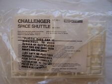 CHALLENGER SPACE SHUTTLE  OWNERS  MODEL KIT TOY ANTIQUE GAS STATION AD SPACE