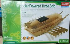 Academy 18135 - Solar Powered Turtle Ship - Plastic Model Kit Educational Toys