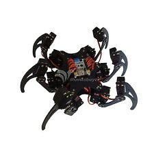 Aluminium Hexapod Spider Six 3DOF Legs Robot Frame Kit Fully
