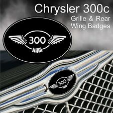 Chrysler 300c 300 Wing Logo Grille & Rear Wing Badge Emblems