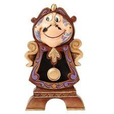 Disney Traditions Cogsworth - Beauty And The Beast Figurine Boxed New 4049621