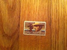 Vintage United States Postage Stamp DW D W GRIFFITH Movie Film Maker Cancelled