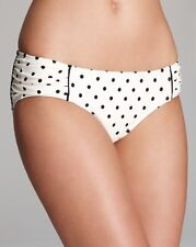 Juicy Couture Women's Itsy Bitsy Polka Dot Classic Bikini Swim Bottom Angel M