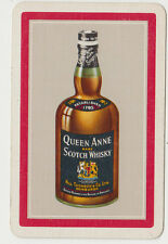Queen Anne Scotch Whisky by Hill Thomson & Co Ltd advertising playing swap card