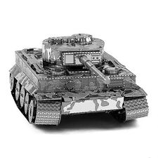 3D Army Tiger Tank Solid Puzzle Metal Micro Model Toys for Kids Child Exquisite