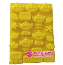 Silicone Food Grade Cake Pudding Cake Ice Chocolate Mold for Kids HOT!