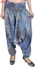 Belly Dance Satin Harem Pants Tribal Style Bollywood Dancing Costume Yoga-Indian