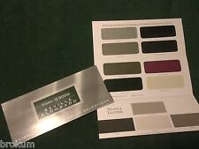 MINT 2000 CADILLAC SEVILLE ELDORADO BROCHURE COLOR SELECTION FOLDER (BOX 776)