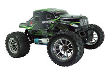 Painted Green Semi Redcat Racing Volcano S30 1/10 Nitro RC Monster Truck Body