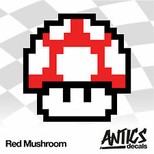 Mushroom/Mario/Funny/Decal/Car/Sticker/Graphic/Tuning/Styling/JDM/VAG/EURO