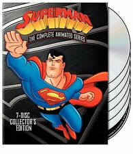 Superman: The Complete Animated Series (DVD Box Set, 7-Disc, 54-Episode) NEW