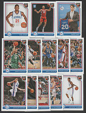 2016 2017 PHIL 76ERS 25 Card Lot w PANINI COMPLETE Team Set (16) 2016-17 Players