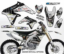 JR80 GRAPHICS KIT JR 80 SUZUKI DECALS DECO STICKERS ALL YEARS PIT BIKE MOTO