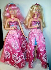 Barbie Princess & the Popstar 2 Tori Dolls Singing Tori Transforming 2N1 Dolls