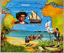 GUINEA 1985 Block 191 B S/S 978 Christoph Columbus Kolumbus Discovery America **