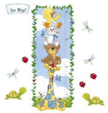 Little Suzys Zoo Growth Chart Wallies Wall Murals Wallpaper Ladybug Turtle Decor
