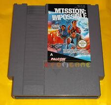 MISSION IMPOSSIBLE Nintendo Nes Versione Italiana PAL A ○○○ SOLO CARTUCCIA - AJ