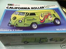 revell 1/25 7304 vw van california roller vintage model kit parts