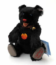"Steiff Teddy Baby ""Blackey"" Teddy Bear 1997 Festival Giengen - 28cm - 655333"