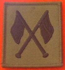 Quality Signallers Combat badge Cross Flags Badge