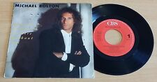 "MICHAEL BOLTON - HOW AM I SUPPOSED TO LIVE WITHOUT YOU -45 GIRI 7""-HOLLAND PRESS"