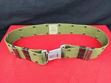 US Military Individual Equipment / Pistol / Web Belt LC-2 OD Green - Large EUC