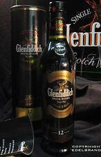 Glenfiddich 12 Jahre 0,7l  40 % Single Malt Special R. Rarität OVP Kofferschloss