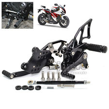 For Yamaha YZF R3 R25 2013 14 CNC Rear Sets Adjustable Racing Rearsets Foot Pegs