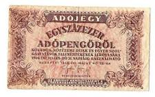 1946 Hungary 100.000 Adopengo One of the highest nomination of banknote ever