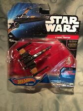Star Wars Hot Wheels Diecast The Force Awakens Ace Pilot Poe Dameron's X-Wing
